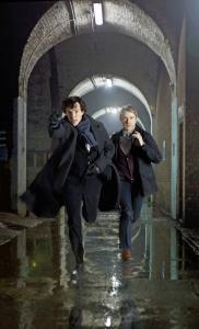 Sherlock and Watson by Colin Hutton