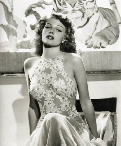 Rita Hayworth by George Hurrell