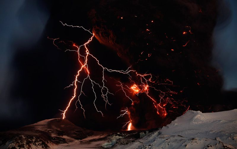 Iceland volcano courtesy REUTERS Lucas Jackson